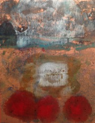 encaustic monotype on Di Chiri Japanese paper